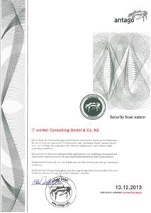 Antago-Zertifikat-2013